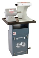 Sit Down Floor Model Polishing System w/ 1/2H.P Dust Collector, 3/4H.P. Single Spindle Polishing Motor and 1 Hood