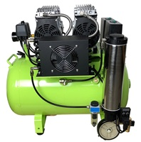 15 Gallon Silent Air Compressor 55dba
