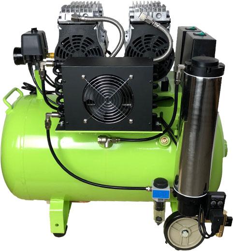 Dental Silent Air Compressor | Dual Head Air Compressor